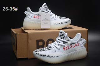 Kids Adidas Originals Yeezy Boost Shoes-5