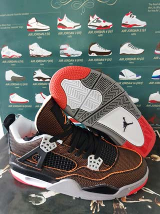 Women Nike Air Jordans 4 AJ4 Shoes Wholesale Cheap-14