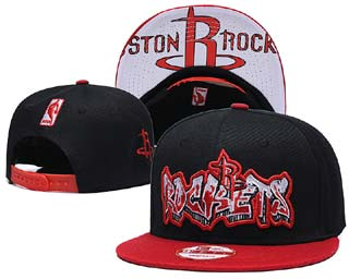 Houston Rockets NBA Snapback Caps-3
