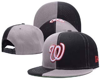 Washington Nationals MLB Snapback Caps-3