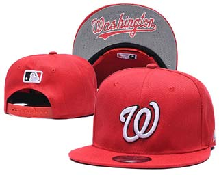 Washington Nationals MLB Snapback Caps-6