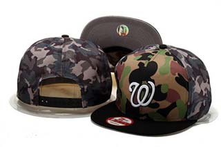 Washington Nationals MLB Snapback Caps-9