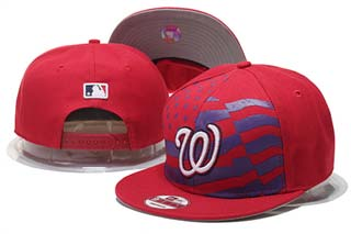 Washington Nationals MLB Snapback Caps-5