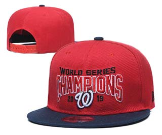 Washington Nationals MLB Snapback Caps-2