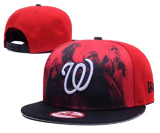 Washington Nationals MLB Snapback Caps-12