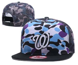 Washington Nationals MLB Snapback Caps-7