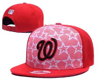 Washington Nationals MLB Snapback Caps-1
