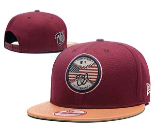 Washington Nationals MLB Snapback Caps-4