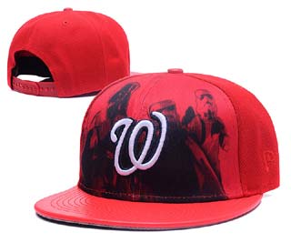 Washington Nationals MLB Snapback Caps-11