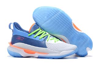 Under Crmour Curry 7 Mens Basketball Shoes-7