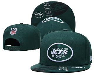 New York Jets NFL Snapback Caps-4